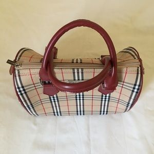 Burberry London handbag vintage